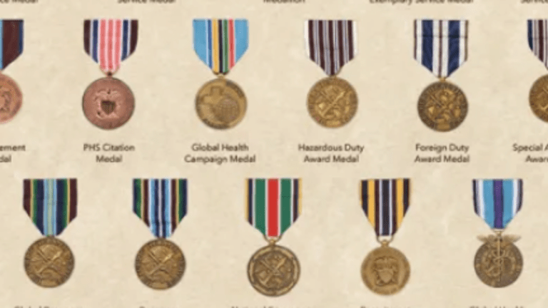 Medals of the US Public Health Service Commissioned Corps