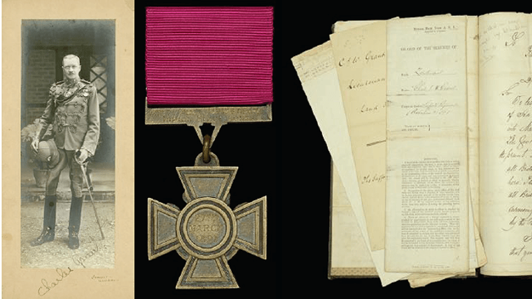 Victoria Cross awarded to 'The Hero of Manipur' sold at auction