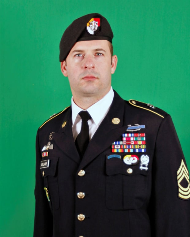On Wednesday, October 30, 2019, Master Sergeant Matthew Williams received the Medal of Honor. The Medal was an upgrade to the Silver Star Medal Williams had earned for saving several lives of his Special Forces comrades during an hours-long firefight in Afghanistan.
