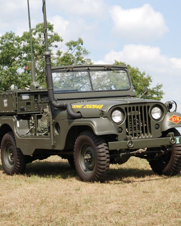 MRC-87 USMC Forward Air Control Jeep