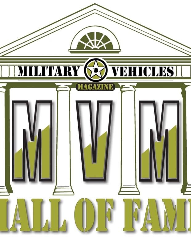 Military Vehicle Hall of Fame logo