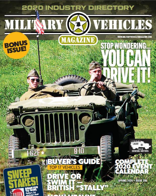 Cover of the 2020 Bonus issue of Military Vehicles Magazine