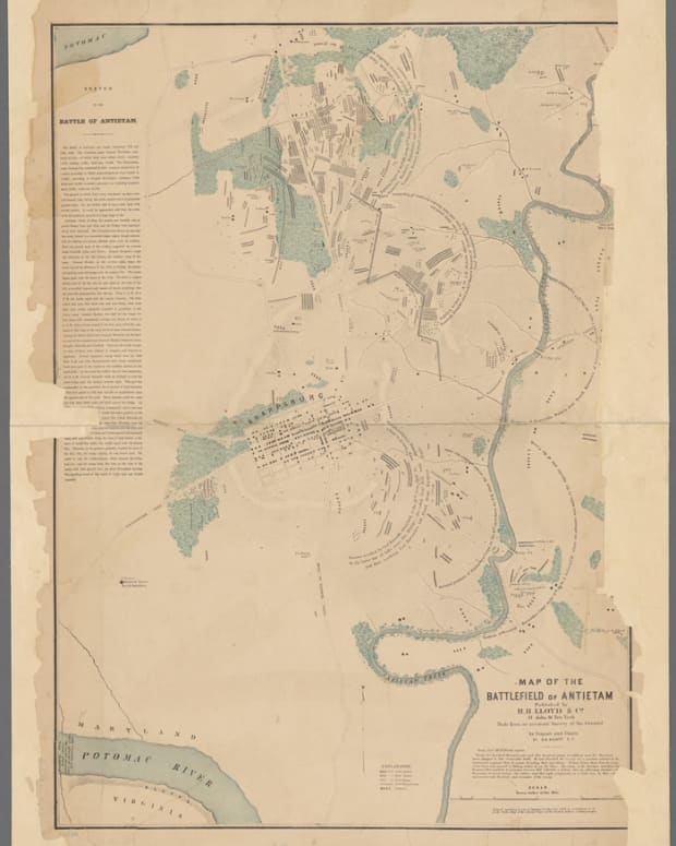 Antietam Map 1