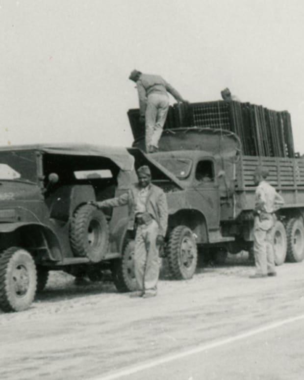 47th Quartermaster Co Convoy 1941