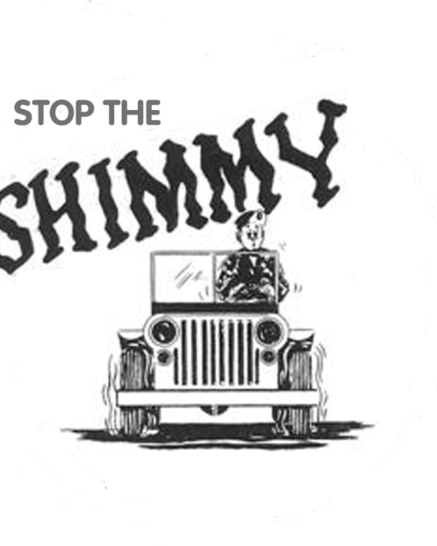 STop the Shimmy