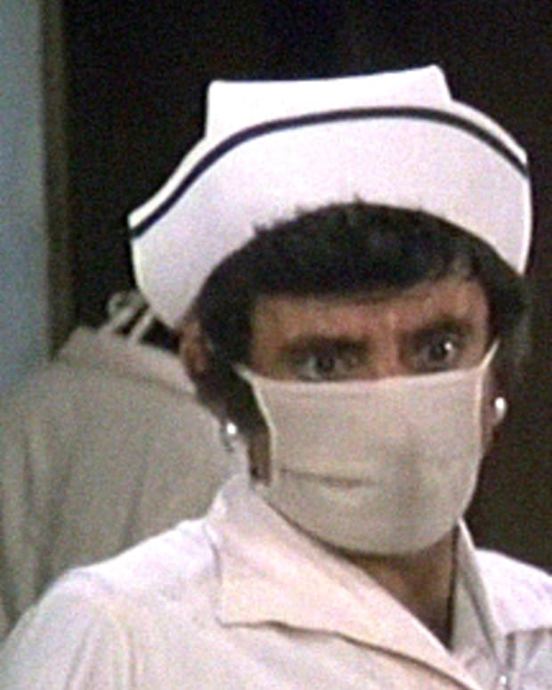 Klinger in a Mask