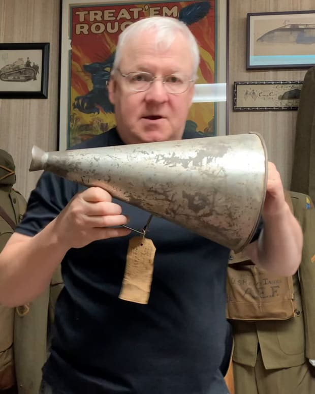 JAGs Relics in 30 seconds: 1920 AFG Megaphone
