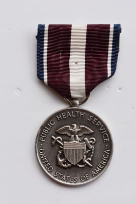 Fig 6 - PHS - Meritorious Service Medal