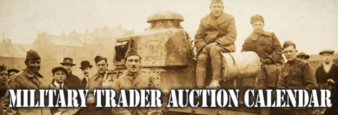 Military Trader Auction Calendar