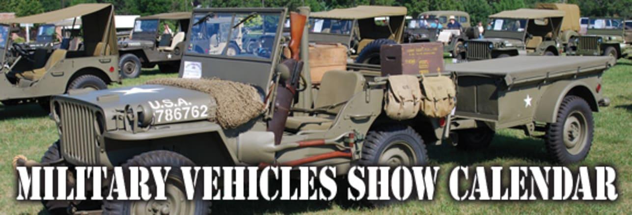 Military Vehicles Show Calendar