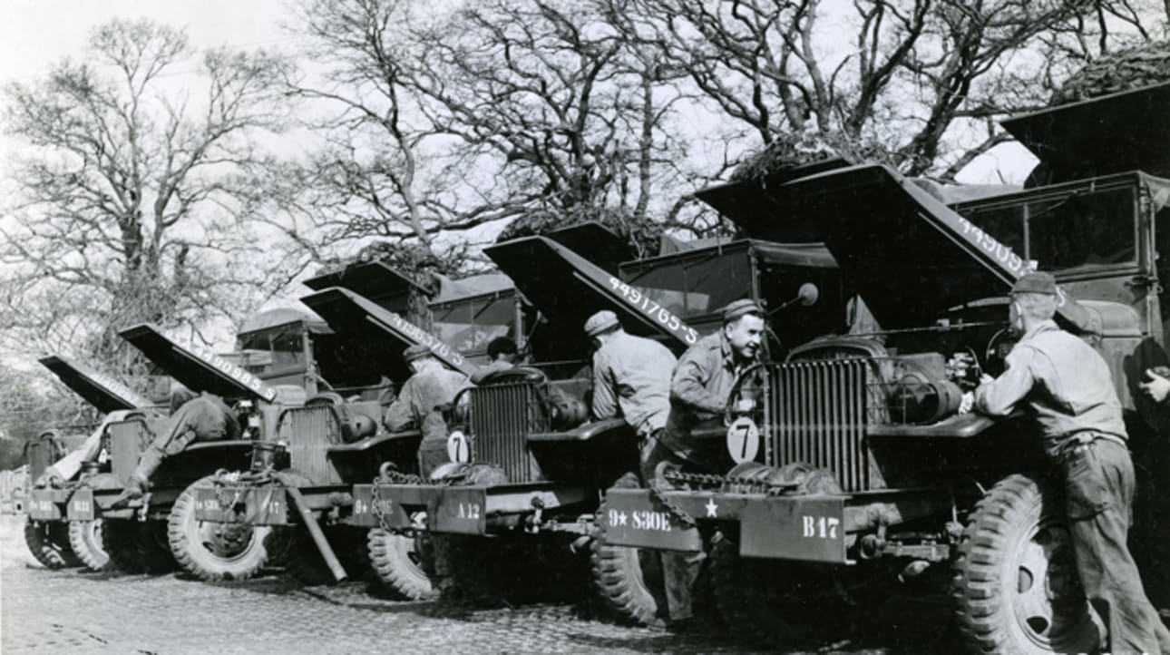 2. Restoration & Maintenance of Military Vehicles