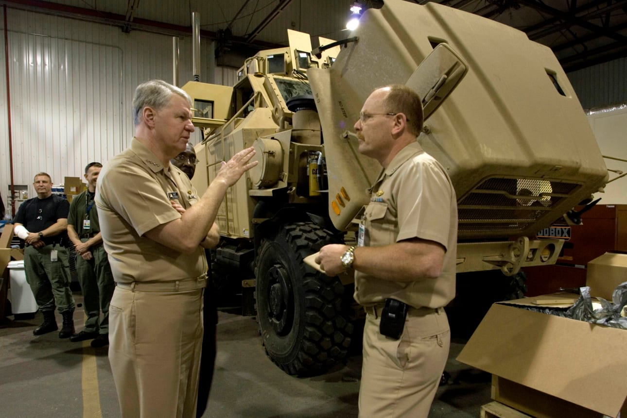 Military Vehicles in the News