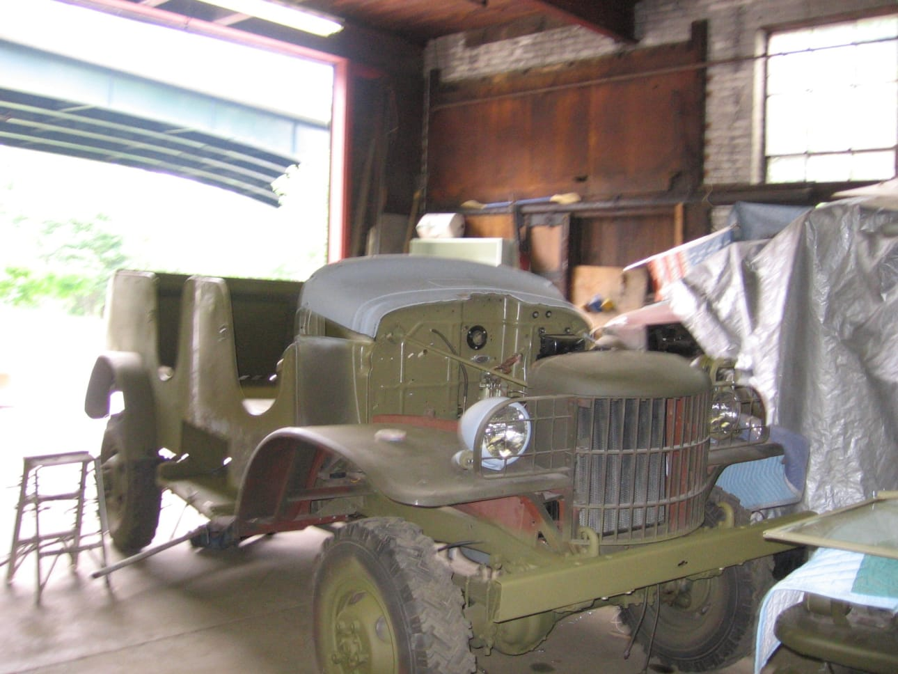 Restoration & Maintenance of Military Vehicles