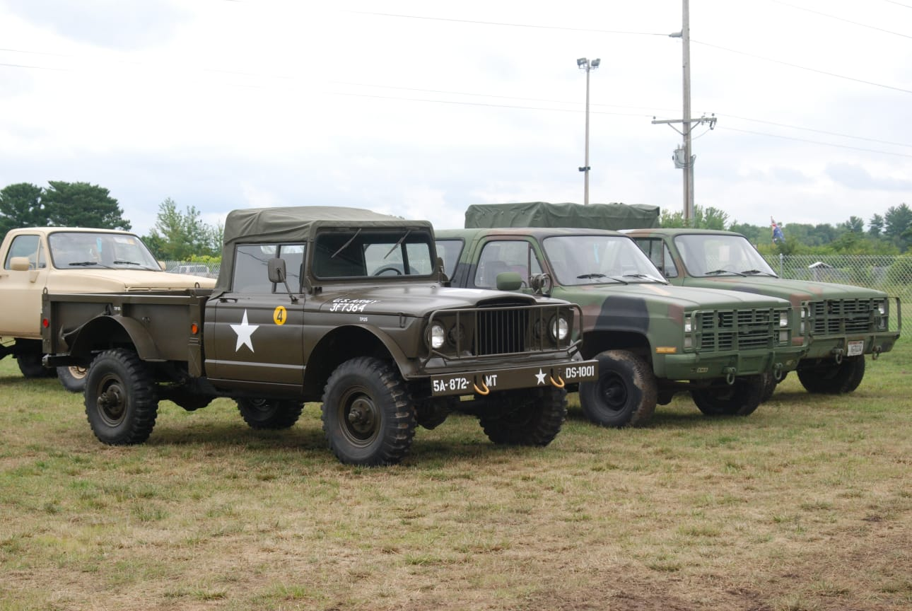4. 1 to 2-ton Vehicles (M715s,CUCVs, HMMWVs, GTBs, G-506s, etc.)