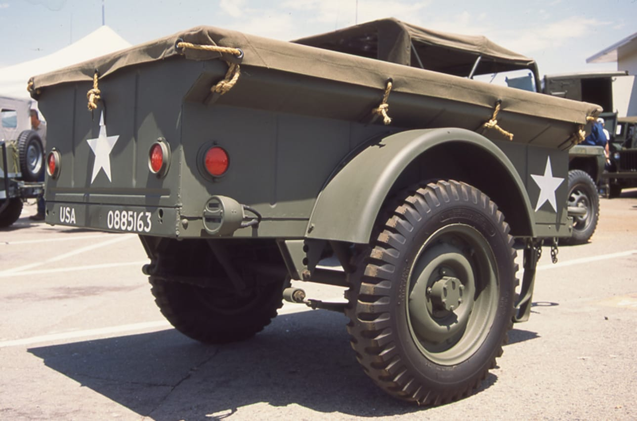 9. Military Trailers
