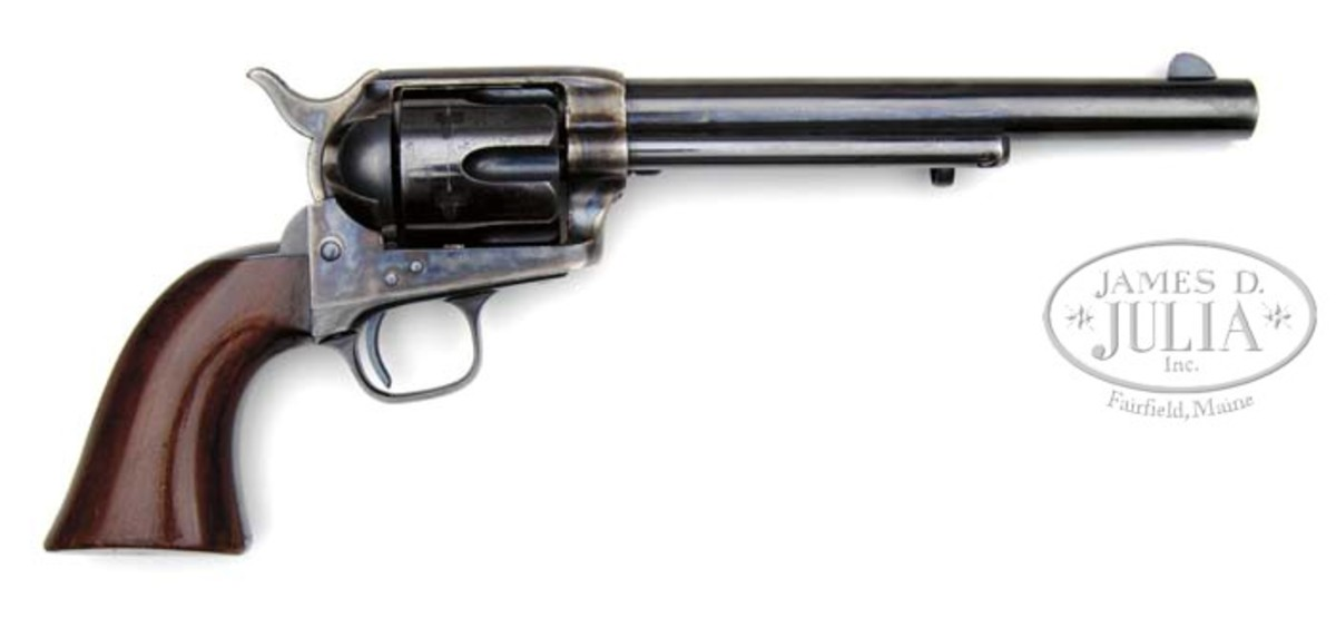 A rare Colt rimfire in extraordinary condition, and believed to be the finest known example is estimated for $175,000-$275,000.