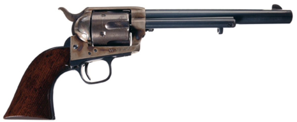 Extraordinary Ainsworth Inspected, Company K, 4th Cavalry Marked, Colt Single Action Cavalry Model Revolver. $115,000.