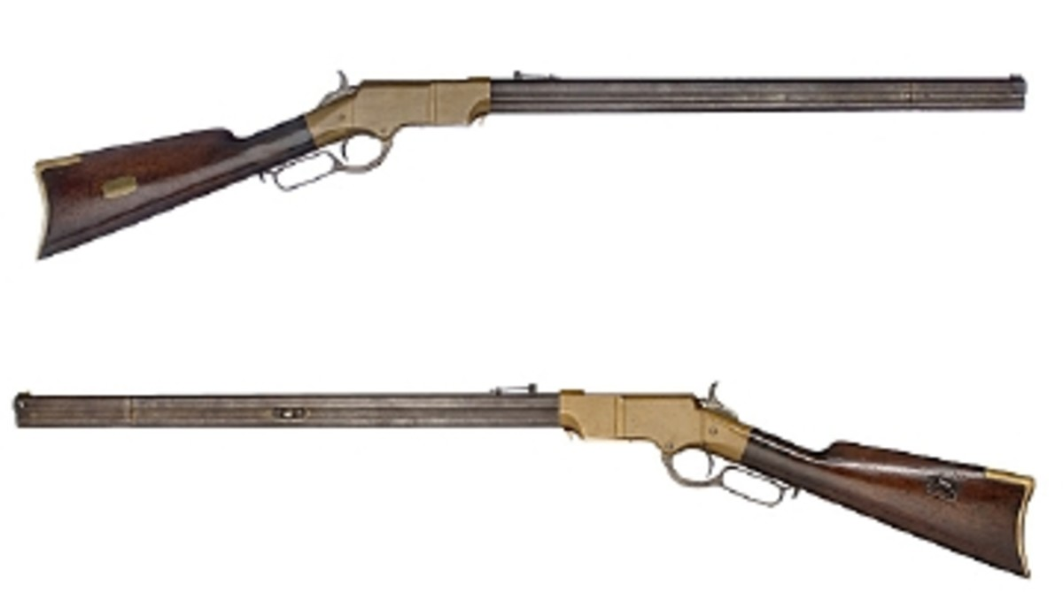 PRESENTATION CIVIL WAR HENRY RIFLE SELLS FOR $39,100