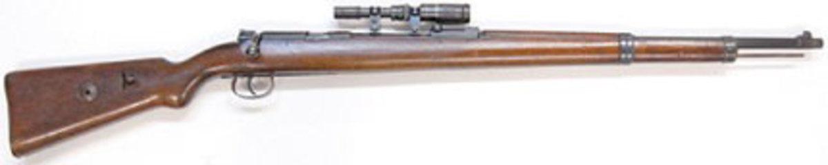 WWII Nazi K98 Sniper rifle