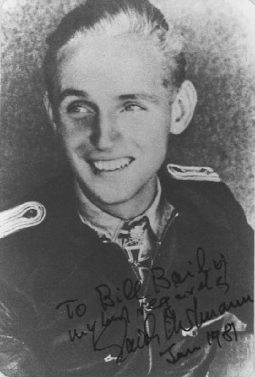 Signed Harmann photograph