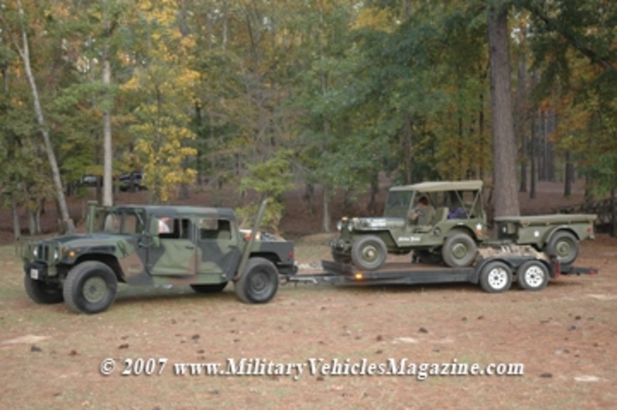 MVs Roll Into Dixie - Military Trader/Vehicles