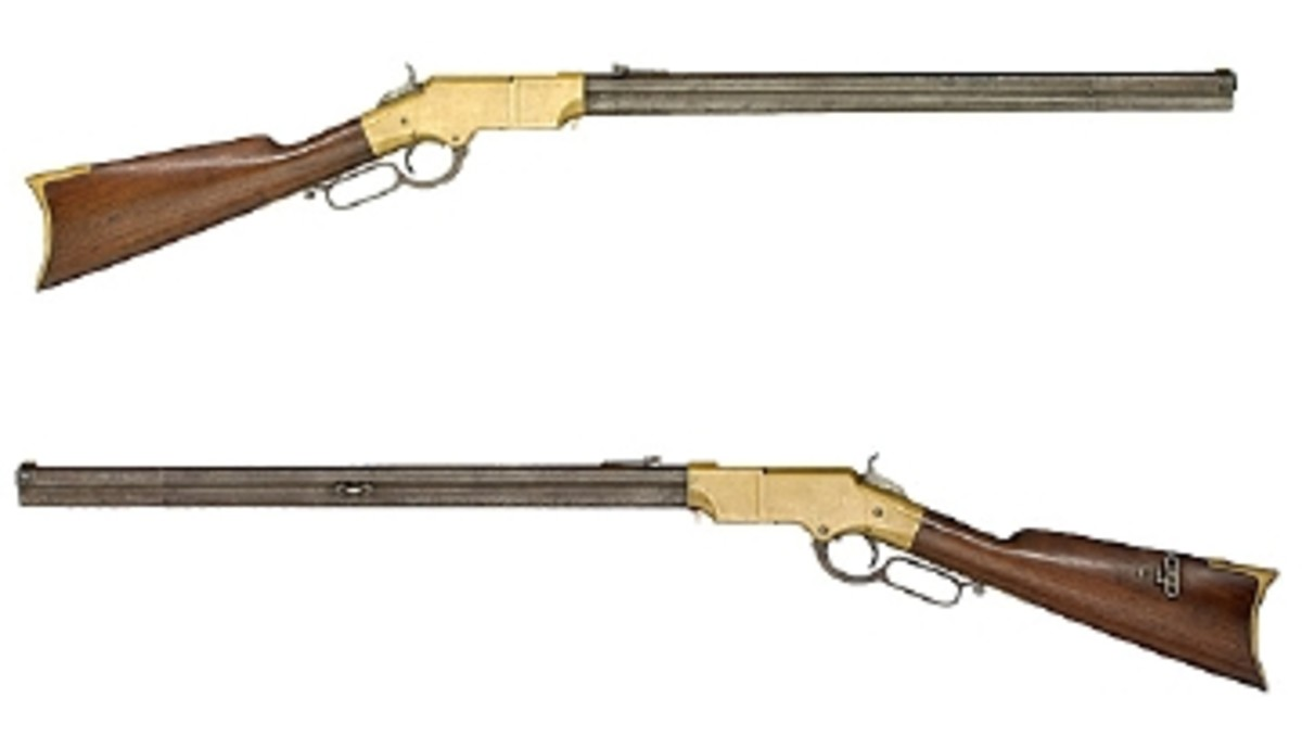MINT 2ND MODEL HENRY RIFLE GARNERS $29,900