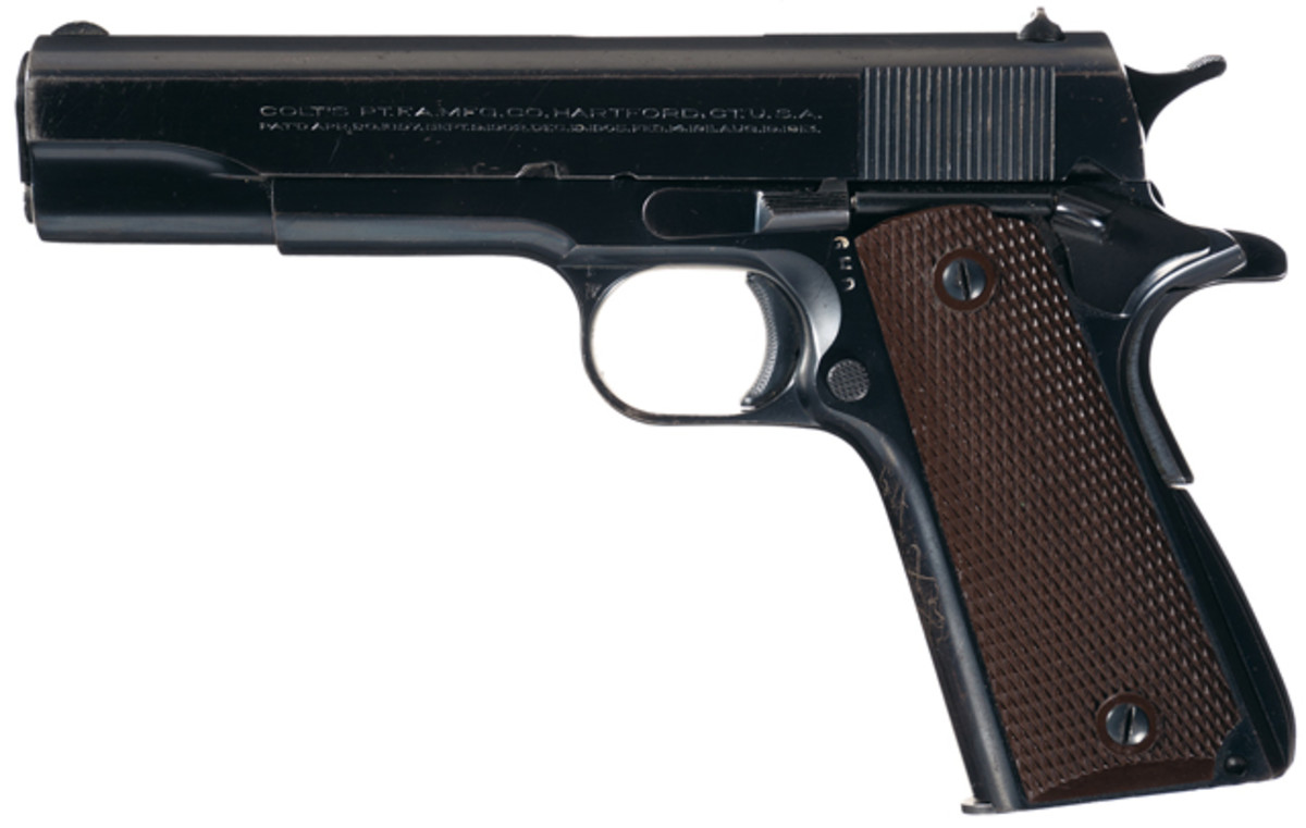 Rare Documented Martially Inspected Colt Super 38 Semi-Automatic Pistol with Factory Letter. $31,625.