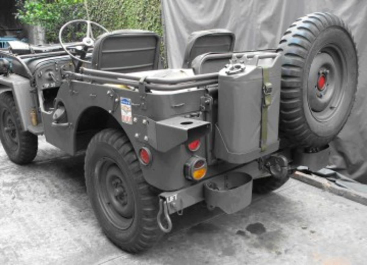 An M38 restored with an early MDJuan reproduction body.