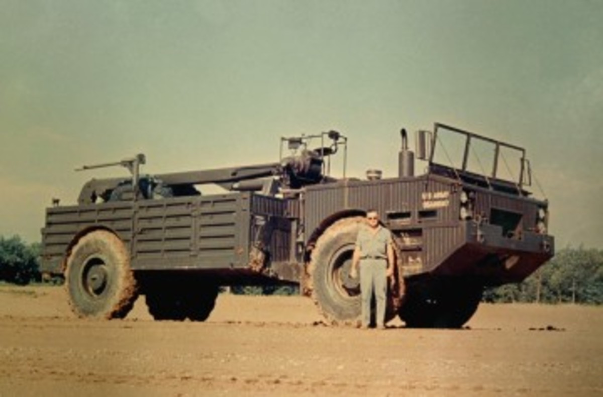 Arguably one of the largest wheeled wreckers ever fielded by the U.S. military was the M553. After trials in Europe, these vehicles and the rest of the GOER family were fielded in Vietnam, where they were notably successful.
