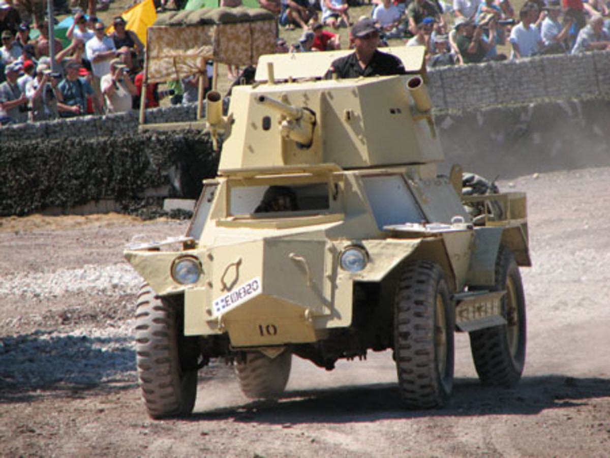 A product of South Africa? No, the MK IV armored car was based on a chassis supplied by Marmon Herrington of Indianapolis, Ind. The finished vehicles incorporated a mix of both Marmon Herrington parts and Canadian Ford components.