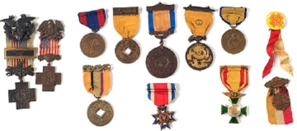 $28,750 PAID FOR MEDAL GROUP BELONGING TO LT. GENERAL ADNA R. CHAFFEE, SR.