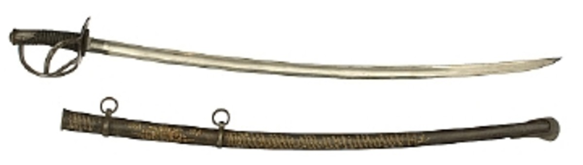 M1840 CAVALRY SABER NAMED TO CHARLES J. SCHULTZ GARNERS $10,350