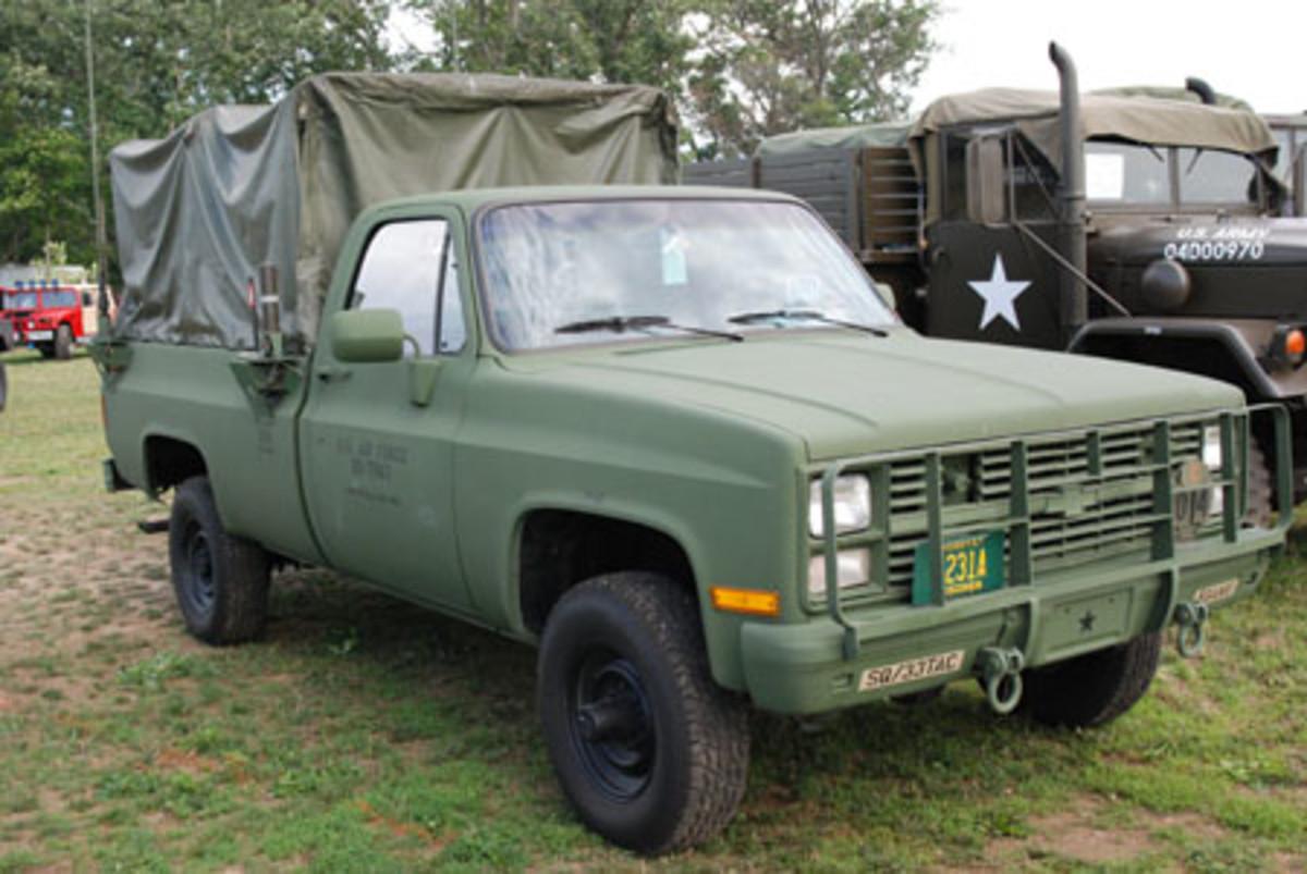 1985 M1008 CUCV owned by J. Peters