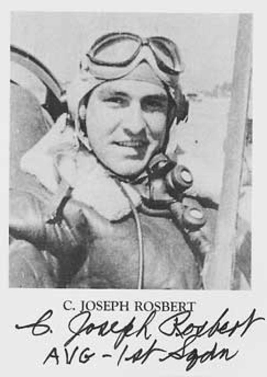 C. Joseph Robert served with the 1st Pursuit Squadron.