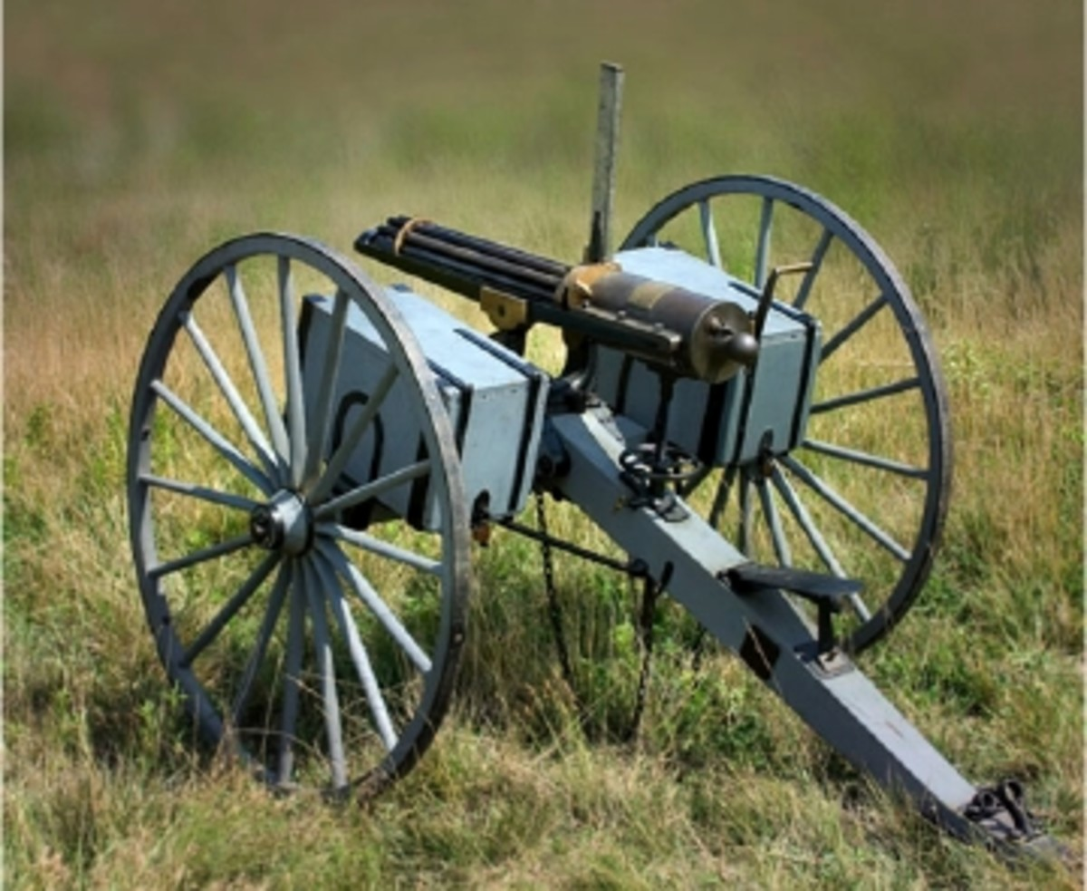 $155,250 PAID FOR COLT MODEL 1866 GATLING GUN