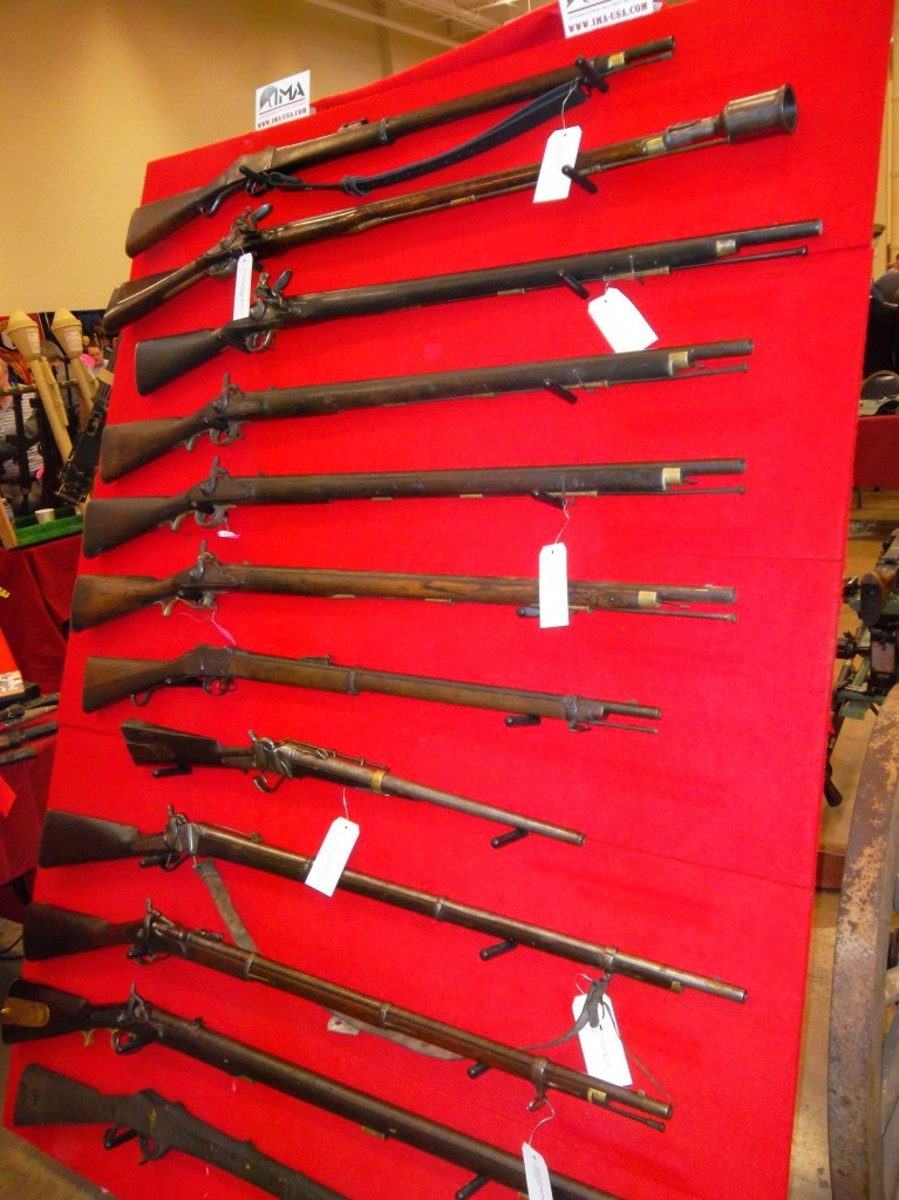 """IMA-USA's offerings of 19th century firearms including such """"British Empire guns"""" as the Brown Bess and Martini Henry"""