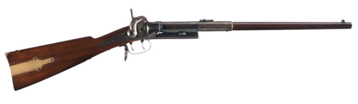 Exceptional and Rare Greene Breech Loading Carbine. $25,875.