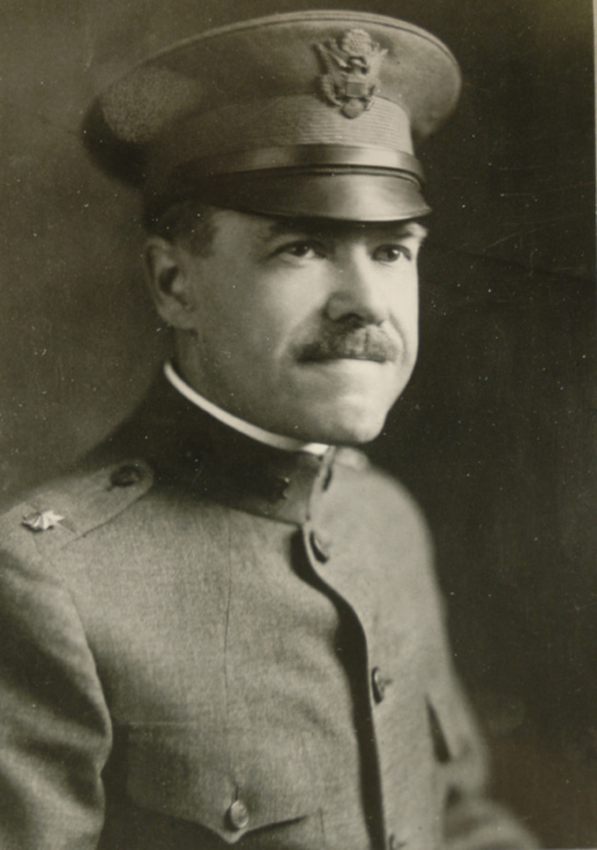 "The ""father of the American steel helmet,"" Bashford Dean. (Chris Armold photo)"