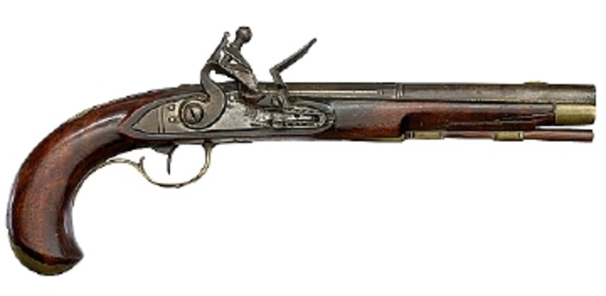 KENTUCKY FLINTLOCK PISTOL FETCHES $10,925