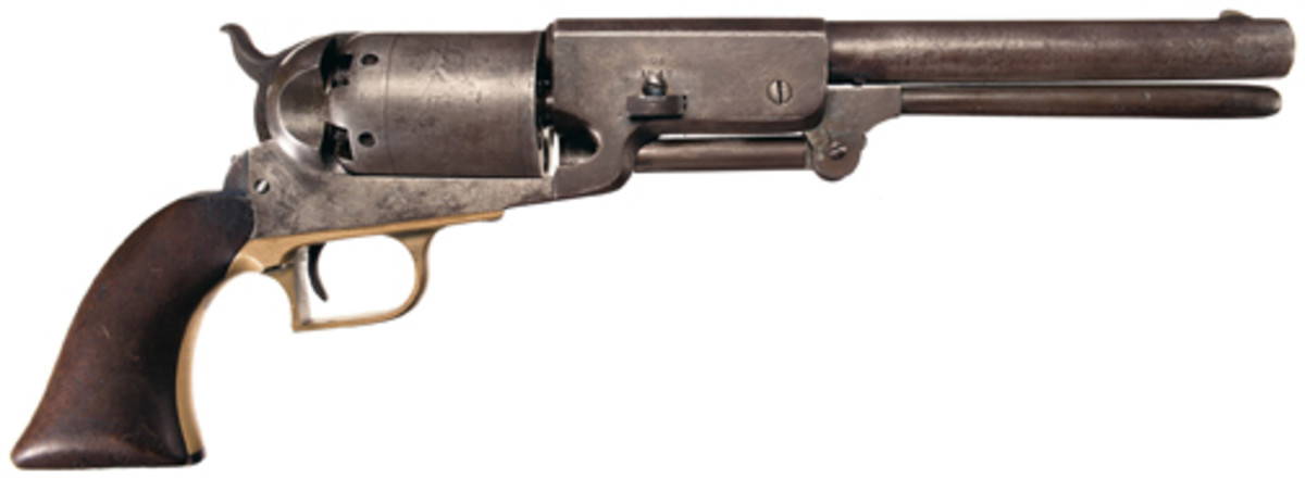 The Finest B Company Marked U.S. Walker Model 1847 Colt Revolver Known. $345,000.