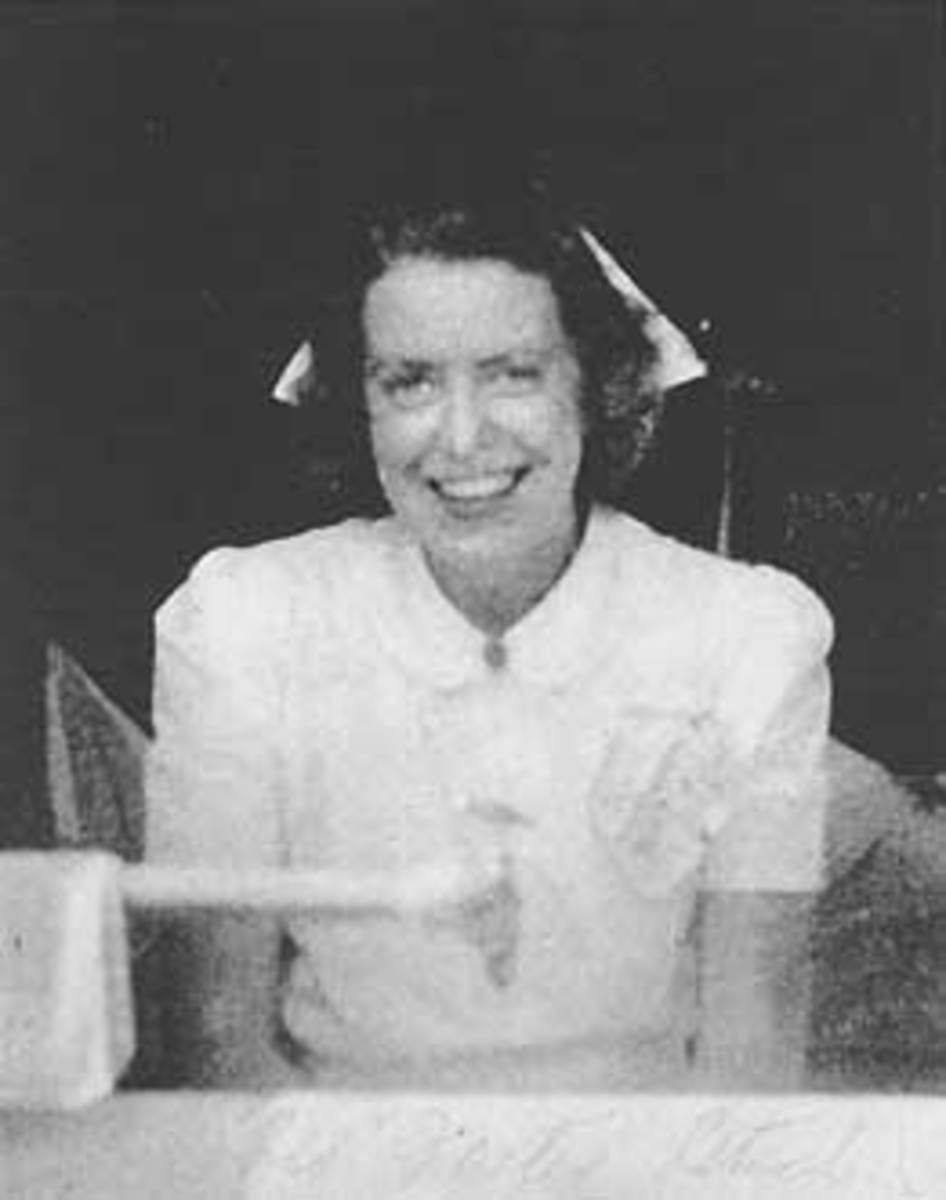 "Emma Jane ""Red"" Foster was one of the nurses that served with the group."