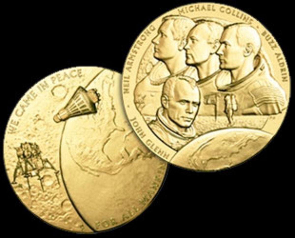 The New Frontier Congressional Gold Medal. (US Mint)