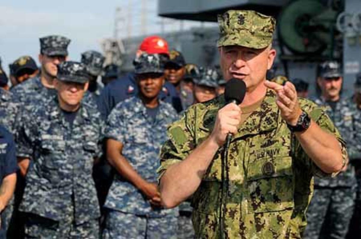 Navy new uniform design