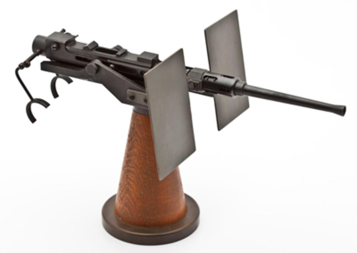 Oreliken 20mm Anti-Aircraft Cannon Reproduction ($2,000-3,000)