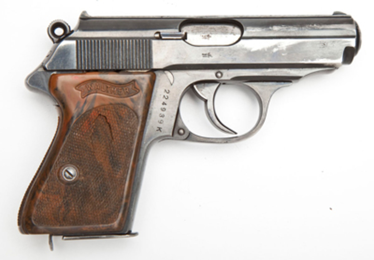 Walther PPK Pistol - 7.65mm Cal. ($600-800)