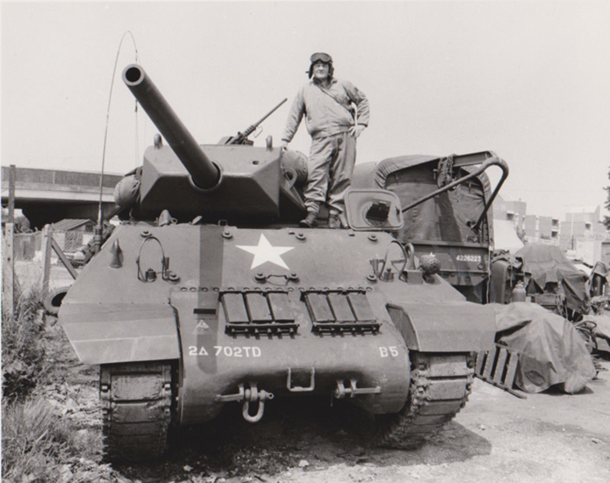 PG's M10 - the first tank in private hands on UK roads