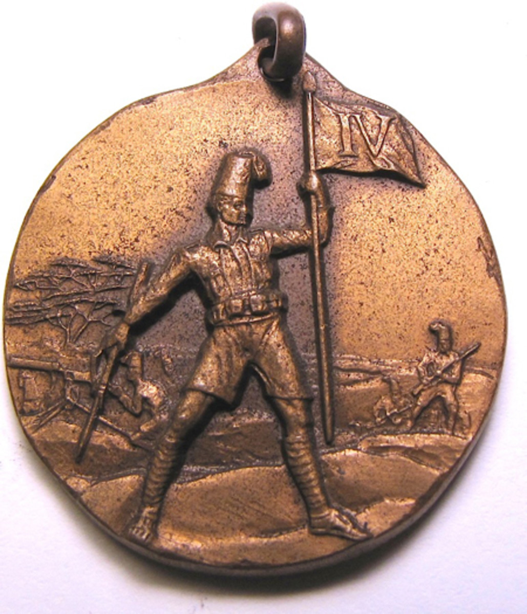 Italian colonial medal issued to the Battalian Arabo Somalo, East Africa, ex Gene Christian collection.