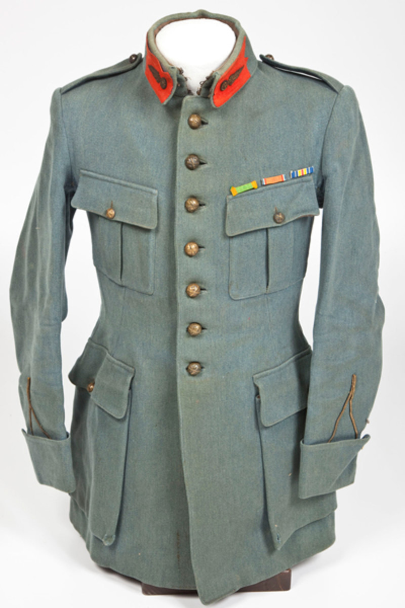 Soldier Identified WWI French Military Uniform ($200-300)