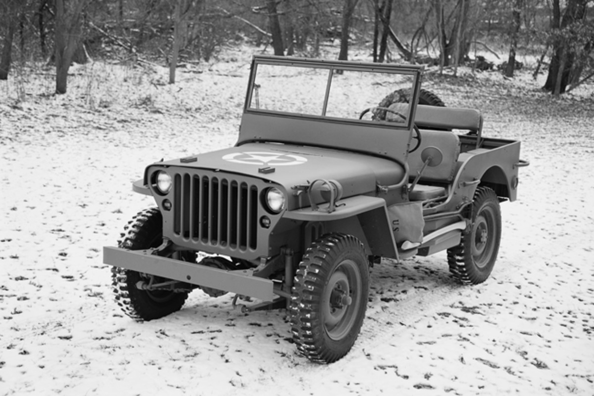 """Not just """"another MB,"""" this particular Jeep has been in the same family since 1948. Daniel Gumz of North Judson, Indiana, recently restored the Jeep."""