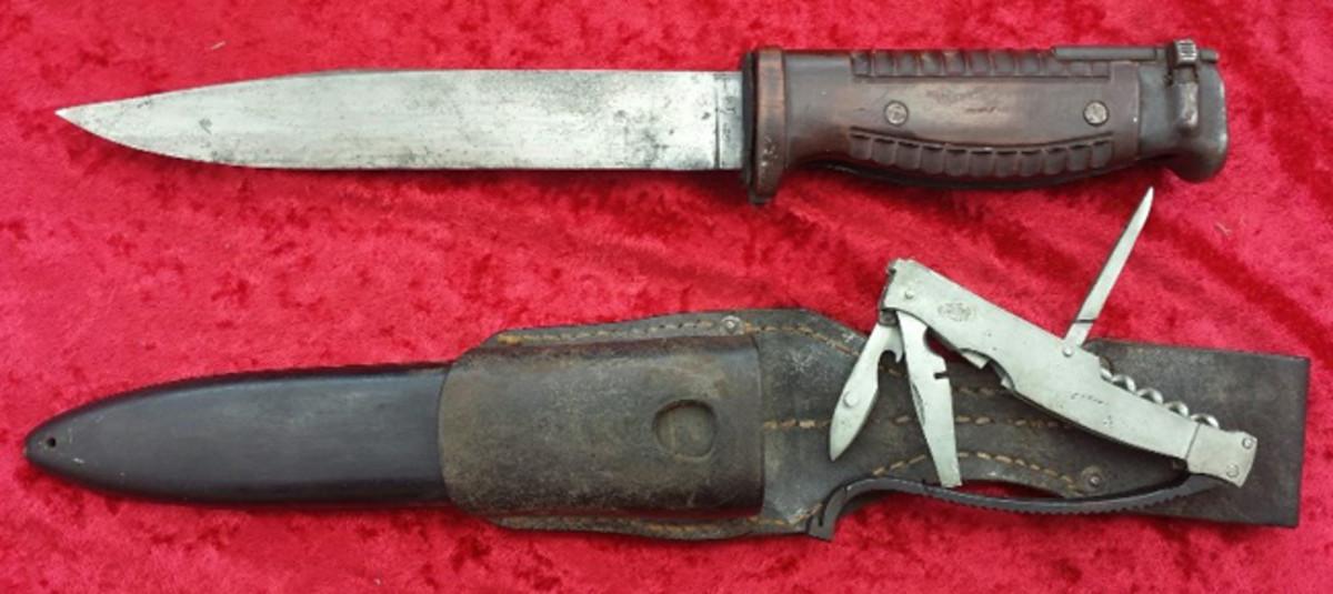 German1942 Seitengewehr Bayonet